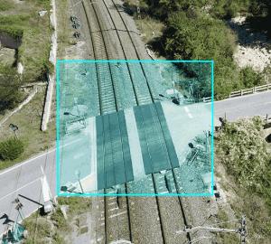 Inspección técnica de infraestructuras ferroviales con dron. Aerial Técnica 2020