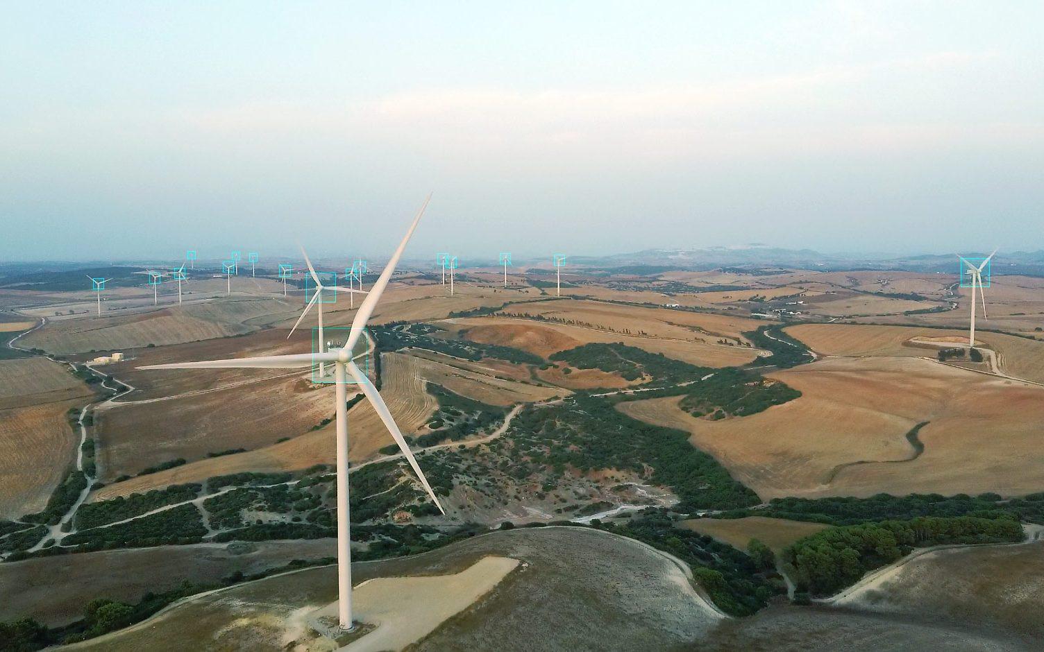 Prospección parque eólico. Chiclana, Cádiz. Aerial Técnica