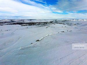 Madrid Noroeste nevado en enero de 2021.