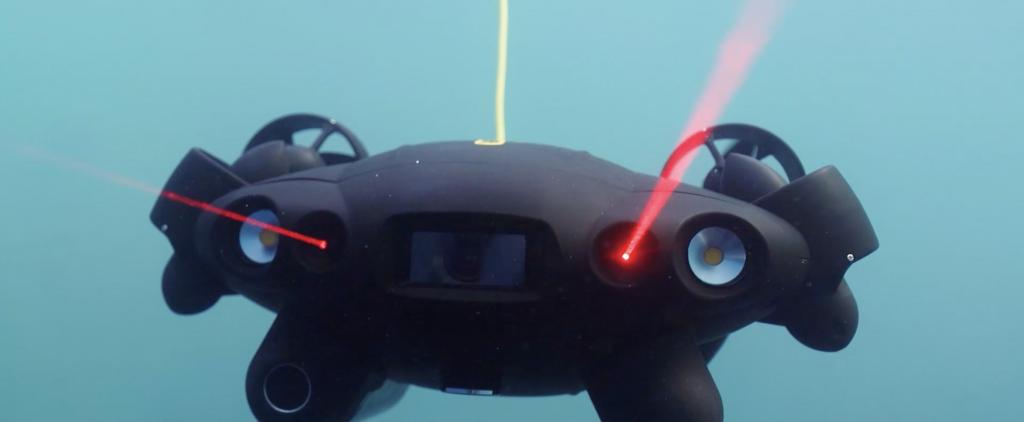 Sensores laser del QYSEA Fifish PRO V6 PLUS