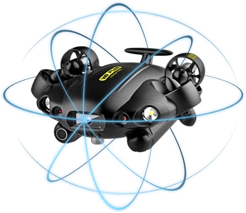 El Fitish PRO V6 tiene movimiento OMNI en todas las direcciones 360º.