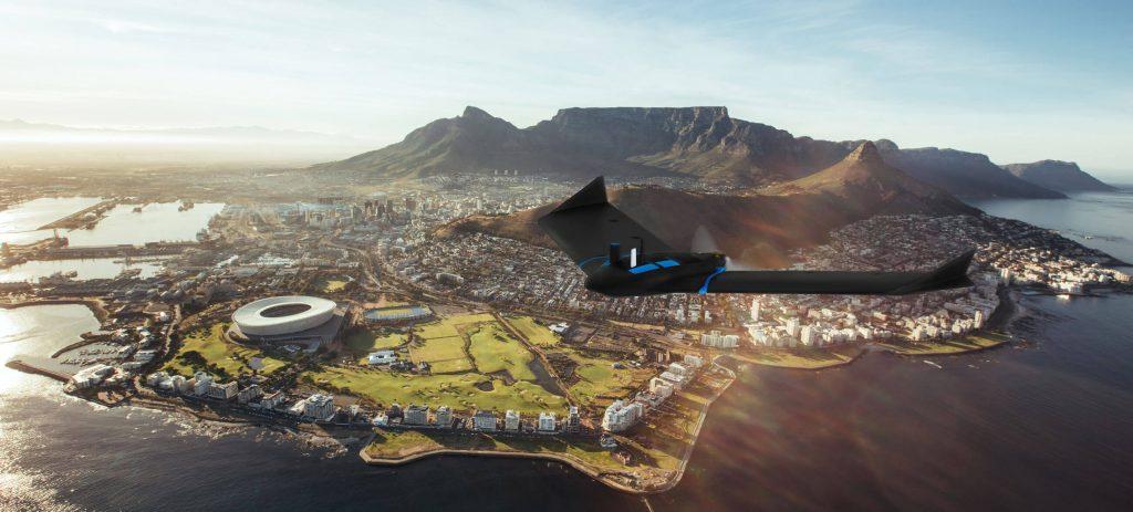 SenseFly eBee Geo drone de ala fija para cartografía.