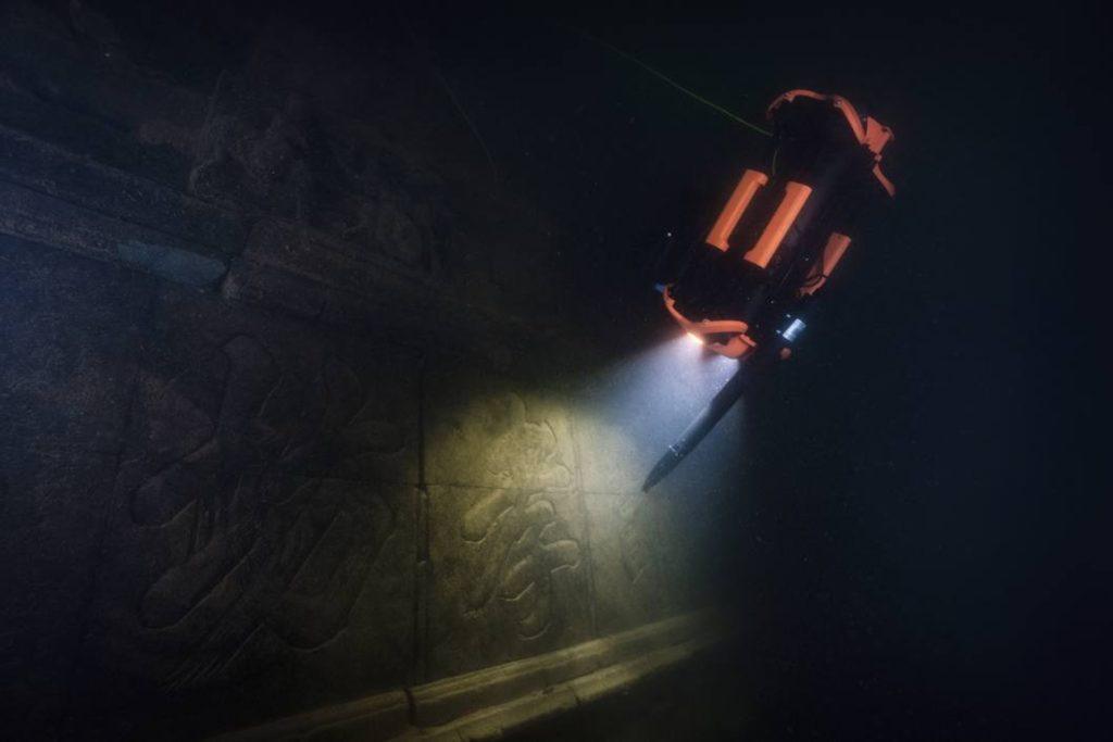 Chasing M2 PRO ROV. Investigación arqueológica submarina.