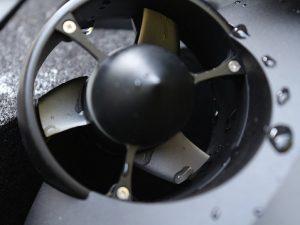 Detalle del motor propulsor del Fifish PRO