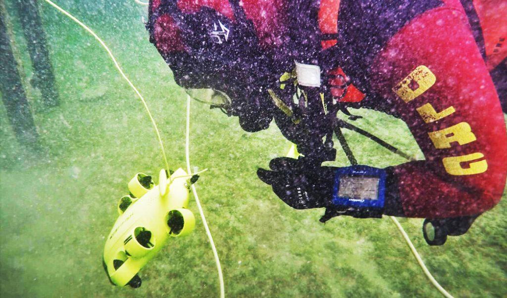Fifish V6 es un ROV ligero para exploración subacuatica que puede transmitir video en directo.
