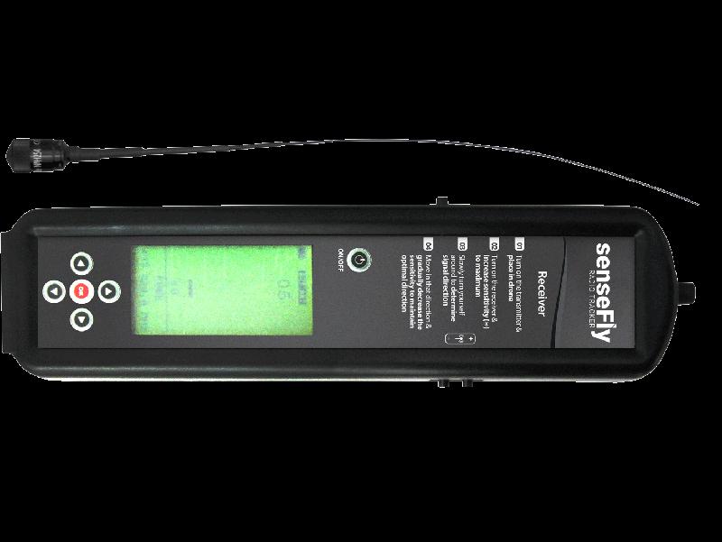 Radio Track. Rastreador de señal dron SenseFly eBee.