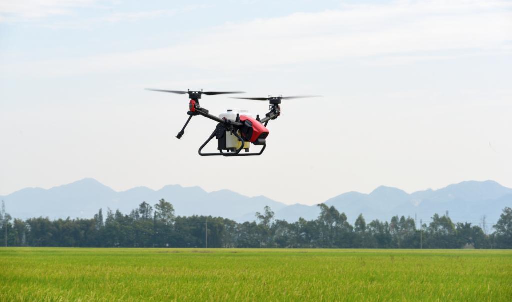 XAG V40 Polaris. Dron agrícola avanzado, 2021