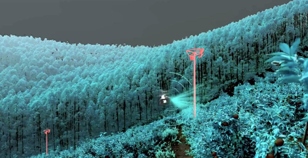 Sensores de detección y evasión de obstáculos del XAG V40