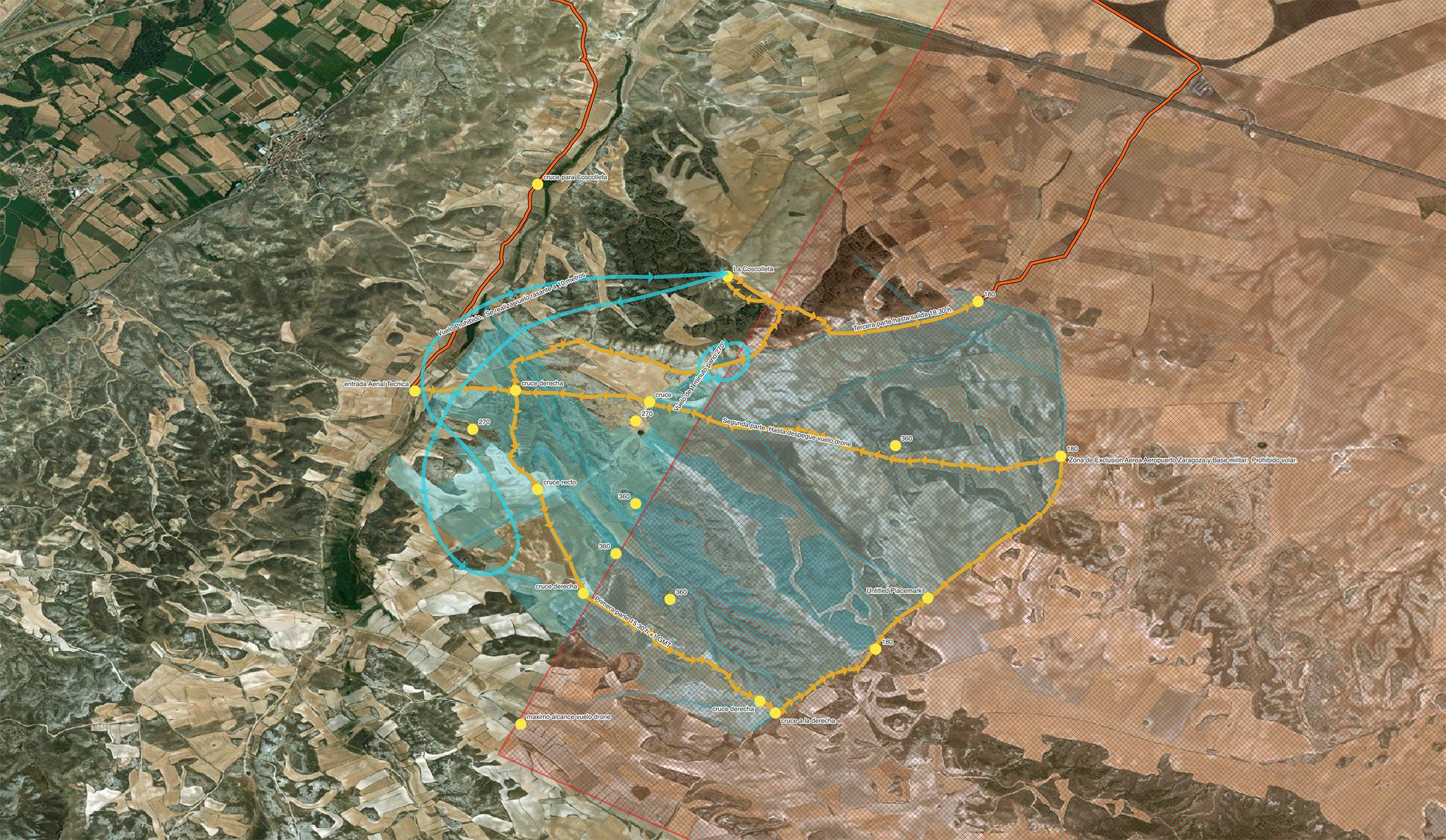 AerialTec Survey Map - Bardallur, Zaragoza, Spain.