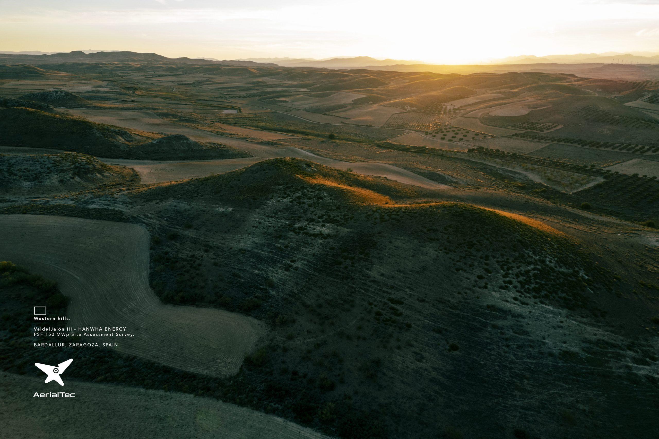 West hills. Aerial Survey PV Valdejalón 3