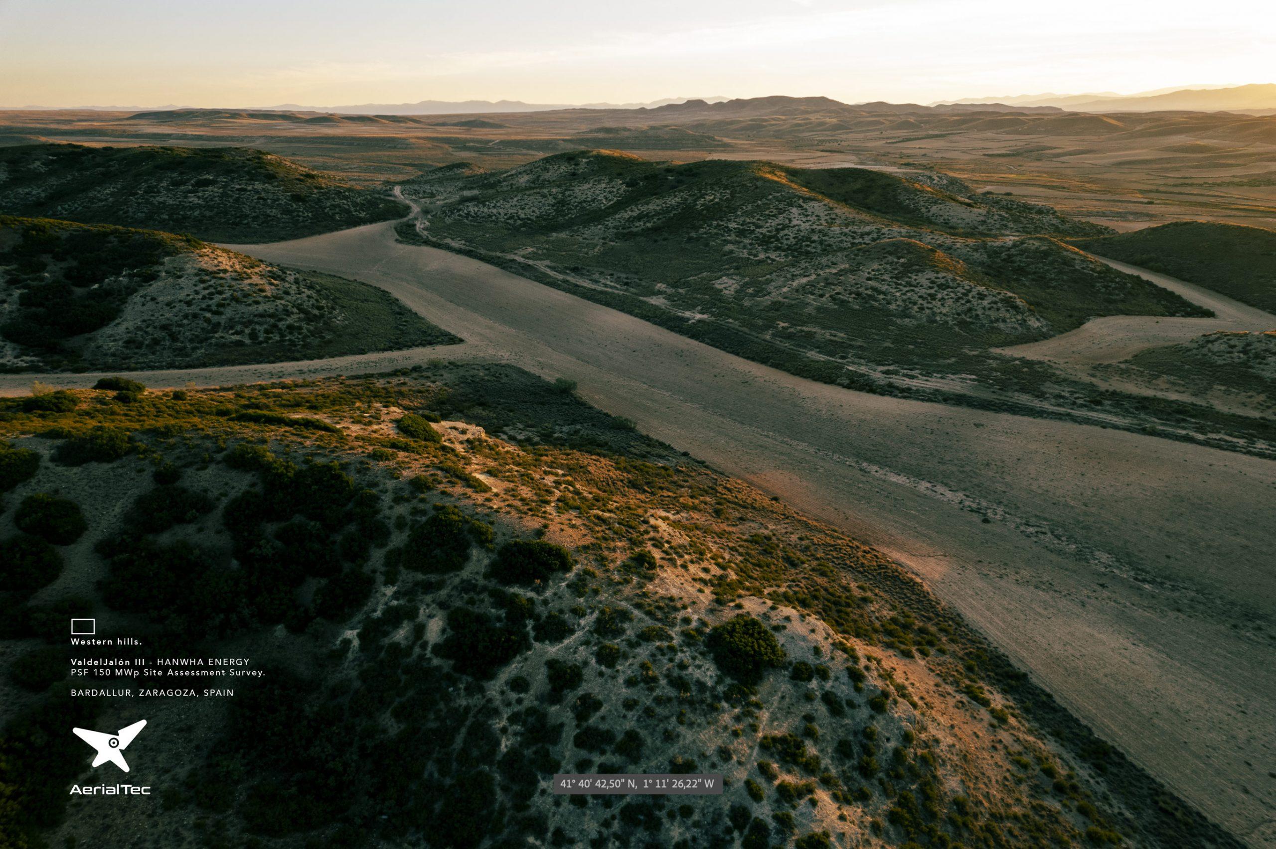 Western Hills. Aerial Survey PV Valdejalón 3